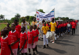 10-årsjubileum for Rotaryprosjektet The David school i Sierra Leone